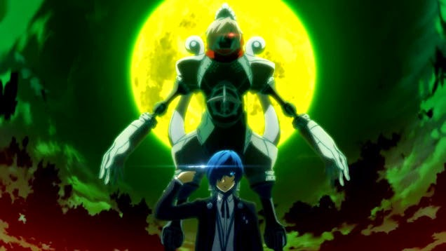 Image result for persona 3 fes FMV