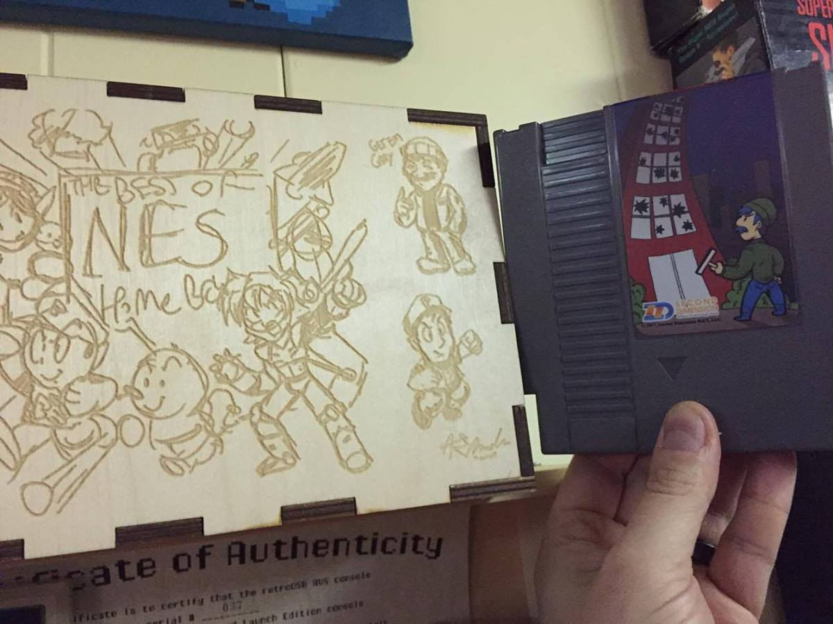 The Best of NES Homebrew Box Set