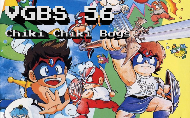VGBS 56 – Chiki Chiki Boys aka Mega Twins (Sega Genesis, PC Engine