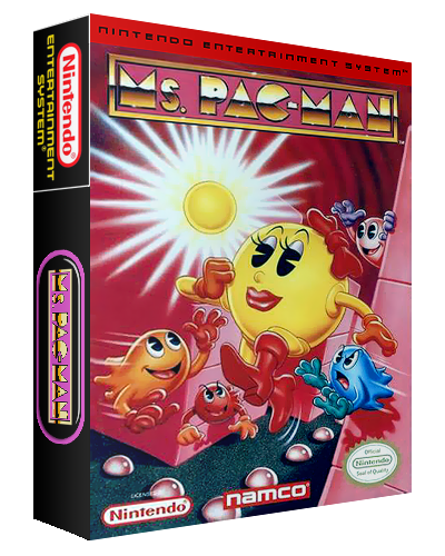 Ms. Pac-Man 3D