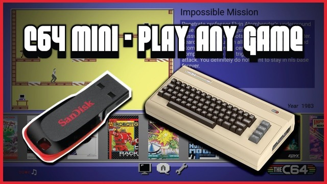 The C64 Mini – The Ultimate Way to Play the Commodore 64? | Hagen's