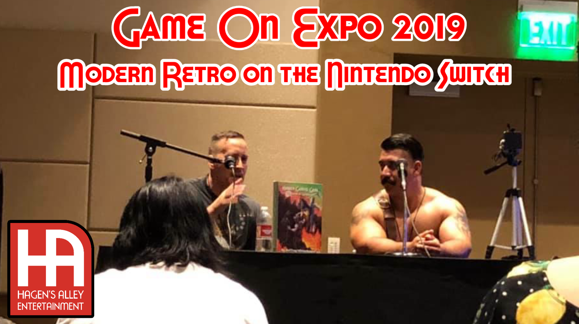 Modern Retro on the Nintendo Switch | Game On Expo 2019
